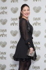 LOUISE THOMPSON at Chain of Hope Gala Ball in London