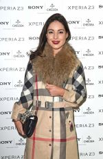 LOUISE THOMPSON at Sony Pool Party at Haymarket Hotel in London