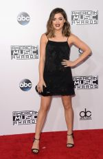 LUCY HALE at 2014 American Music Awards in Los Angeles