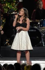 LUCY HALE Performs at CMA Country Christmas in Nashville