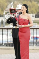 LUCY KAY Performs at This Morning Show
