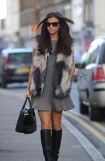 LUCY MECKLENBURGH Arrives at Her Boutique in Essex 0111