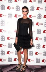LUCY MECKLENBURGH at Kiss FM Halloween Party