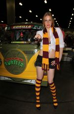 MAITLAND WARD at Comikaze in Los Angeles