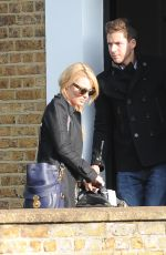 MARGOT ROBBIE and Tom Ackerley in Out in London