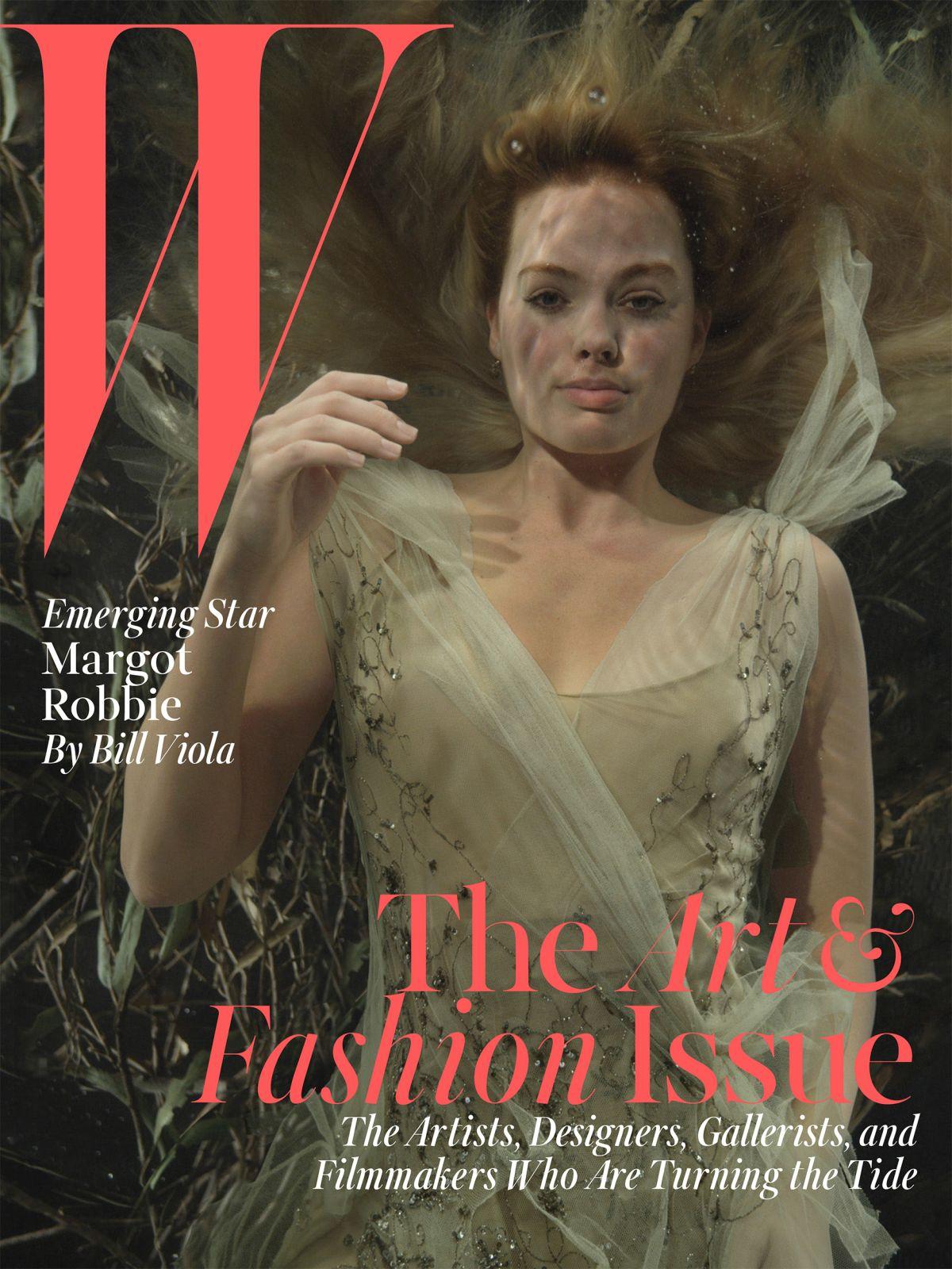 MARGOT ROBBIE in W Magazine, December 2014 Issue