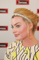 MARGOT ROBBIR at Swisse Marquee on Stakes Day in Melbourne