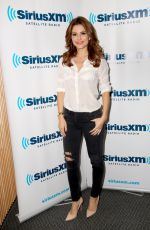 MARIA MENOUNOS at JENNY MCCARTHY SiriusXM Show in Los Angeles