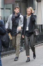 MARIA SHARAPOVA and Grigor Dimitrov Shopping at Dover Street in London