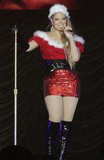 MARIAH CAREY Celebrates Halloween as Mrs. Santa Claus in Thailand
