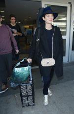 MARION COTILLARD Arrives at Los Angeles International Airport 0611