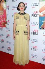 MARION COTILLARD at AFI Fest 2014 in Los Angeles
