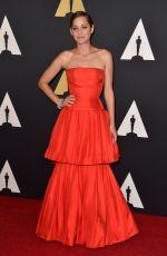 MARION COTILLARD at AMPAS 2014 Governor's Awards in Hollywood