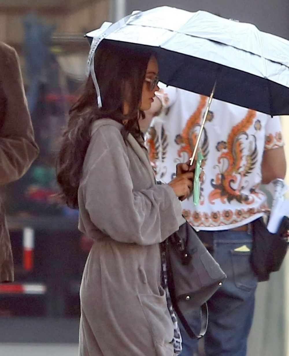 MEGAN FOX on the Set of Zeroville in Los Angeles 1011