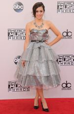 MEGAN NICOLE at 2014 American Music Awards in Los Angeles