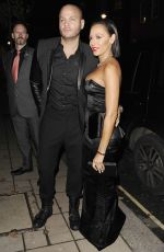 MELANIE BROWN Arrives at Katie Piper Foundation Ball in London