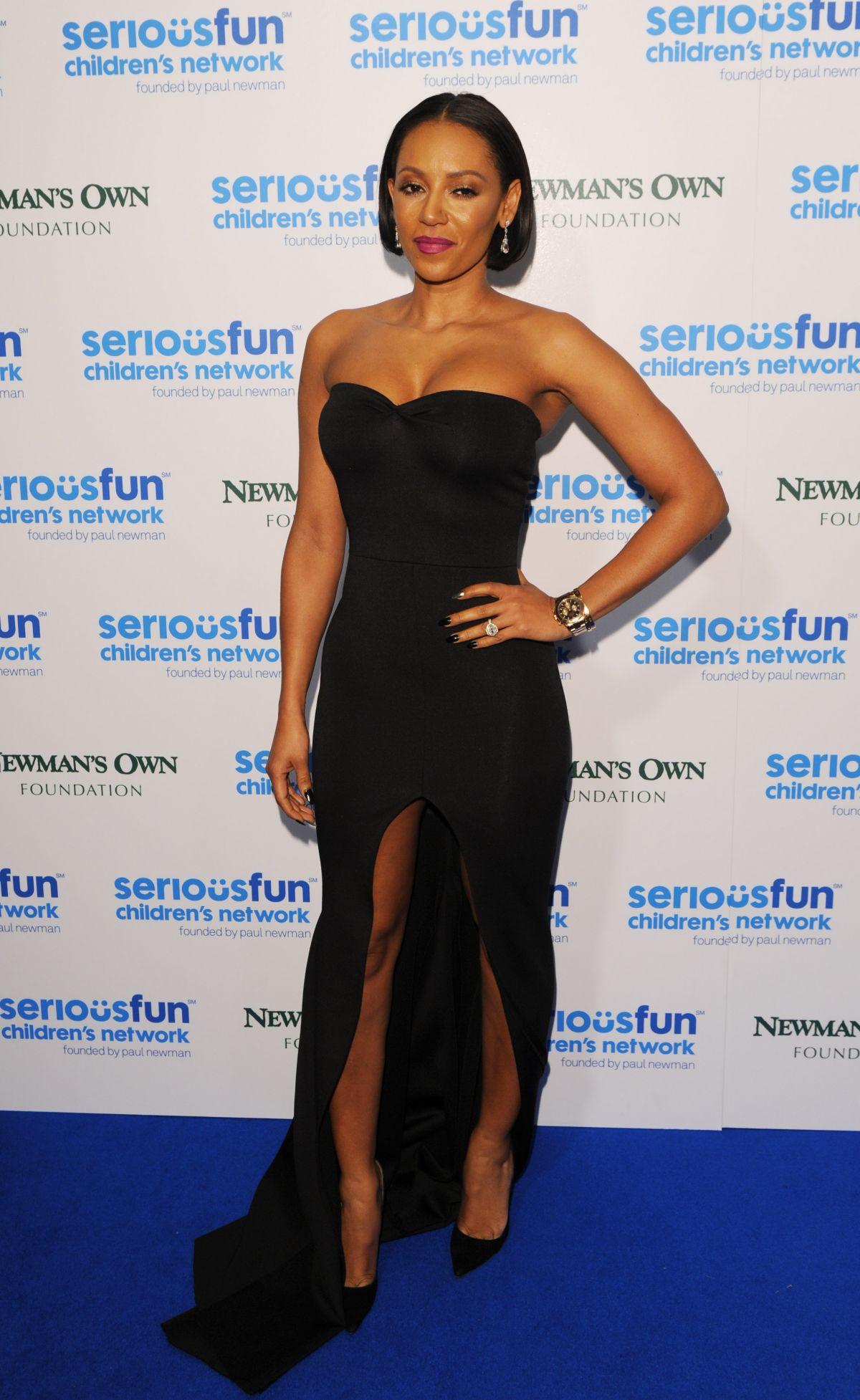 MELANIE BROWN at Seriousfun Gala in London