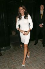 MELANIE SYKES Arrives at Chiltern Firehouse