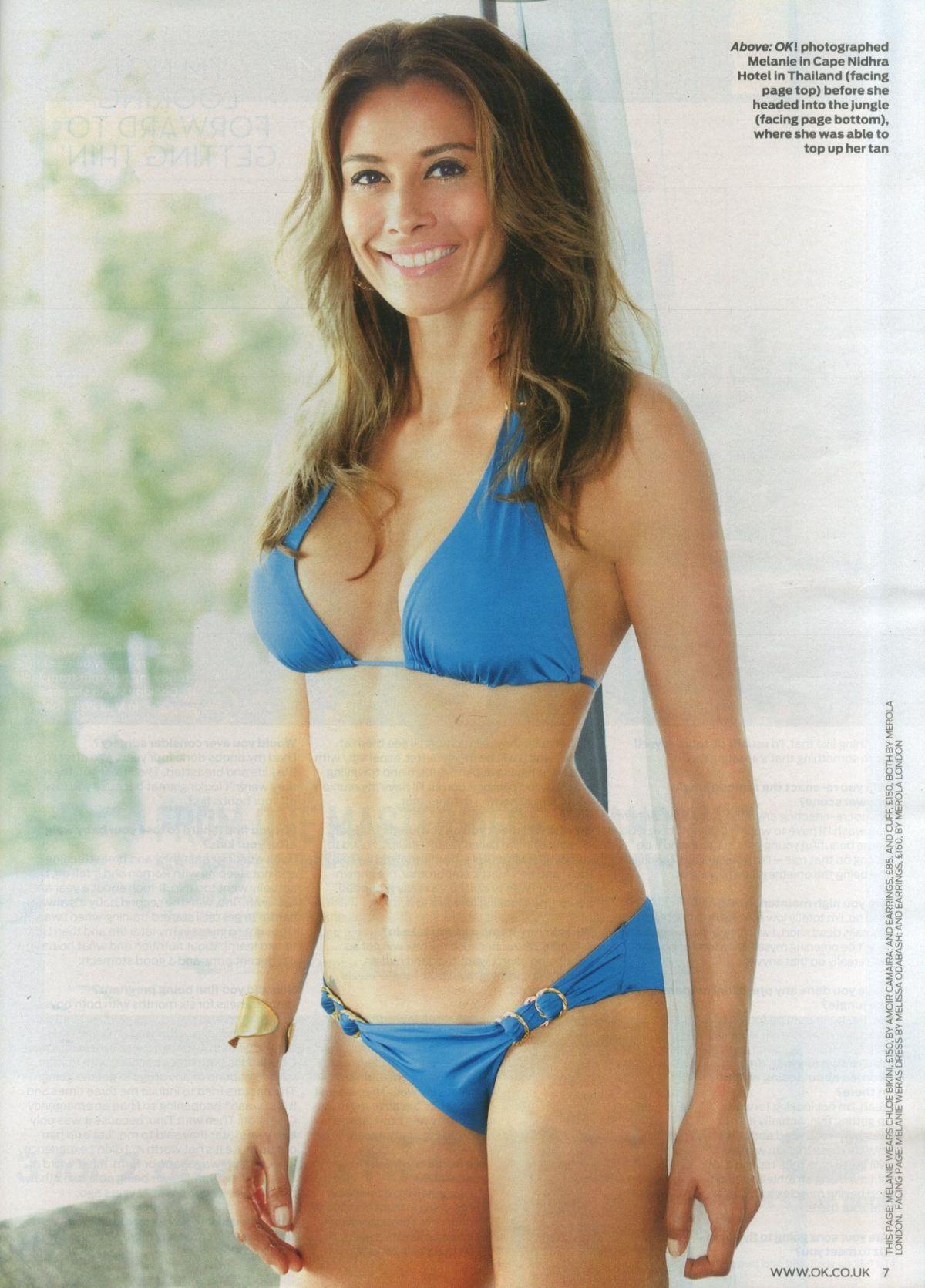 MELANIE SYKES in OK Magazine
