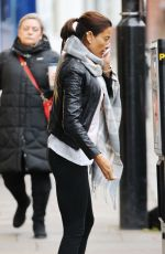 MELANIE SYKES in Tights Out in North London
