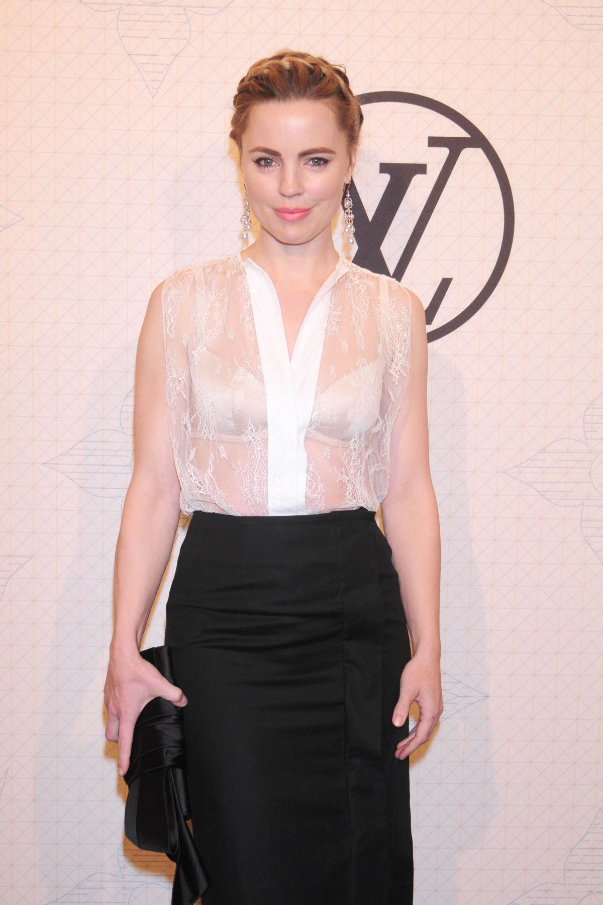 MELISSA GEORGE at Louis Vuitton Monogram Celebration in New York