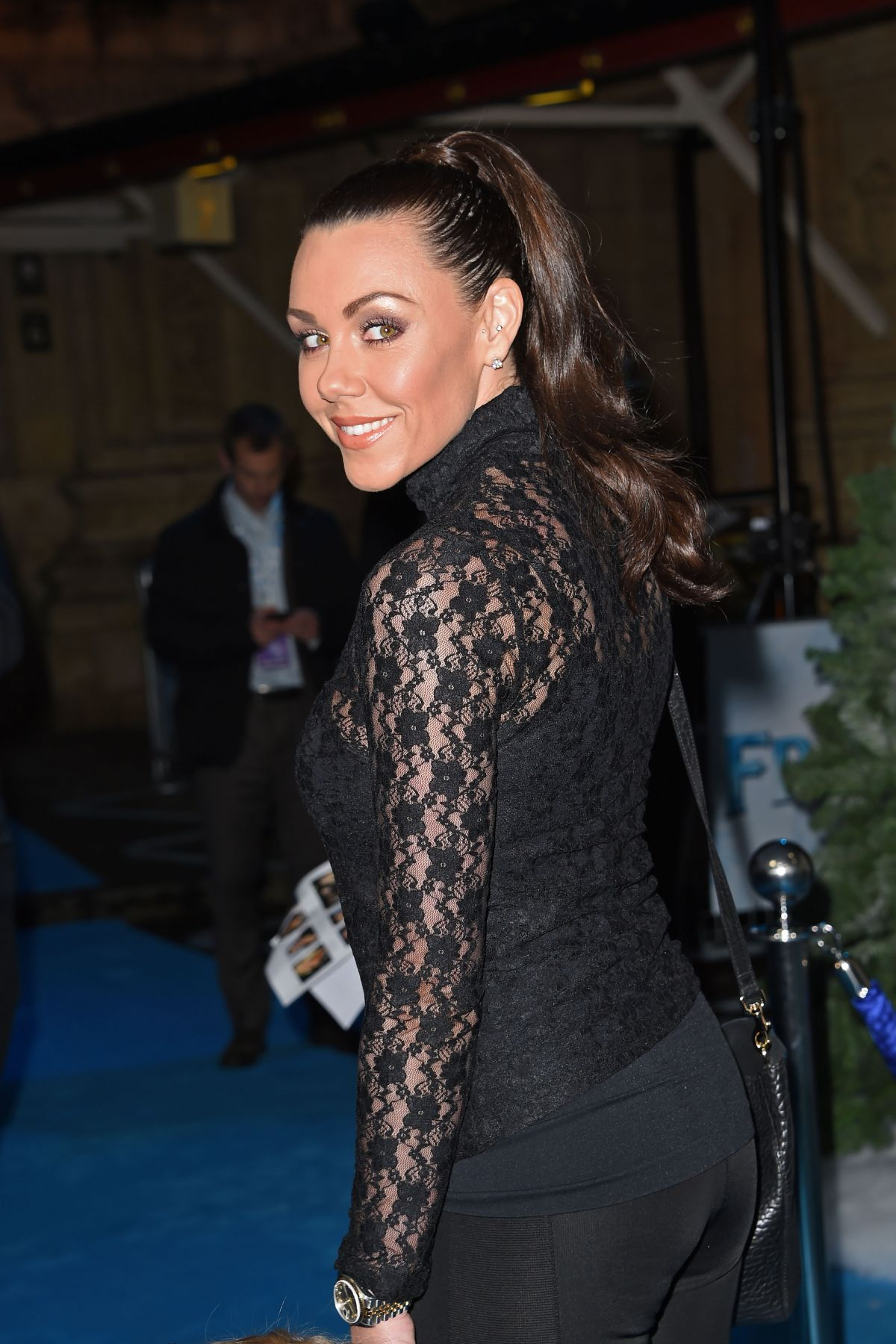 MICHELLE HEATHON at Celebrity Singalong from Frozen at Royal Albert Hall