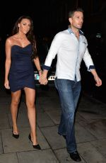 MICHELLE HEATON at Now Christmas Party in London