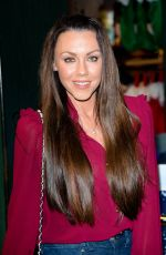 MICHELLE HEATON at Share the Magic Charity Campaign Launch in London