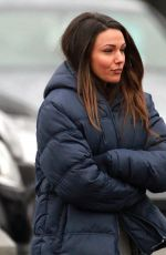 MICHELLE KEEGAN on the Set of Ordinary Lie in Cheshire