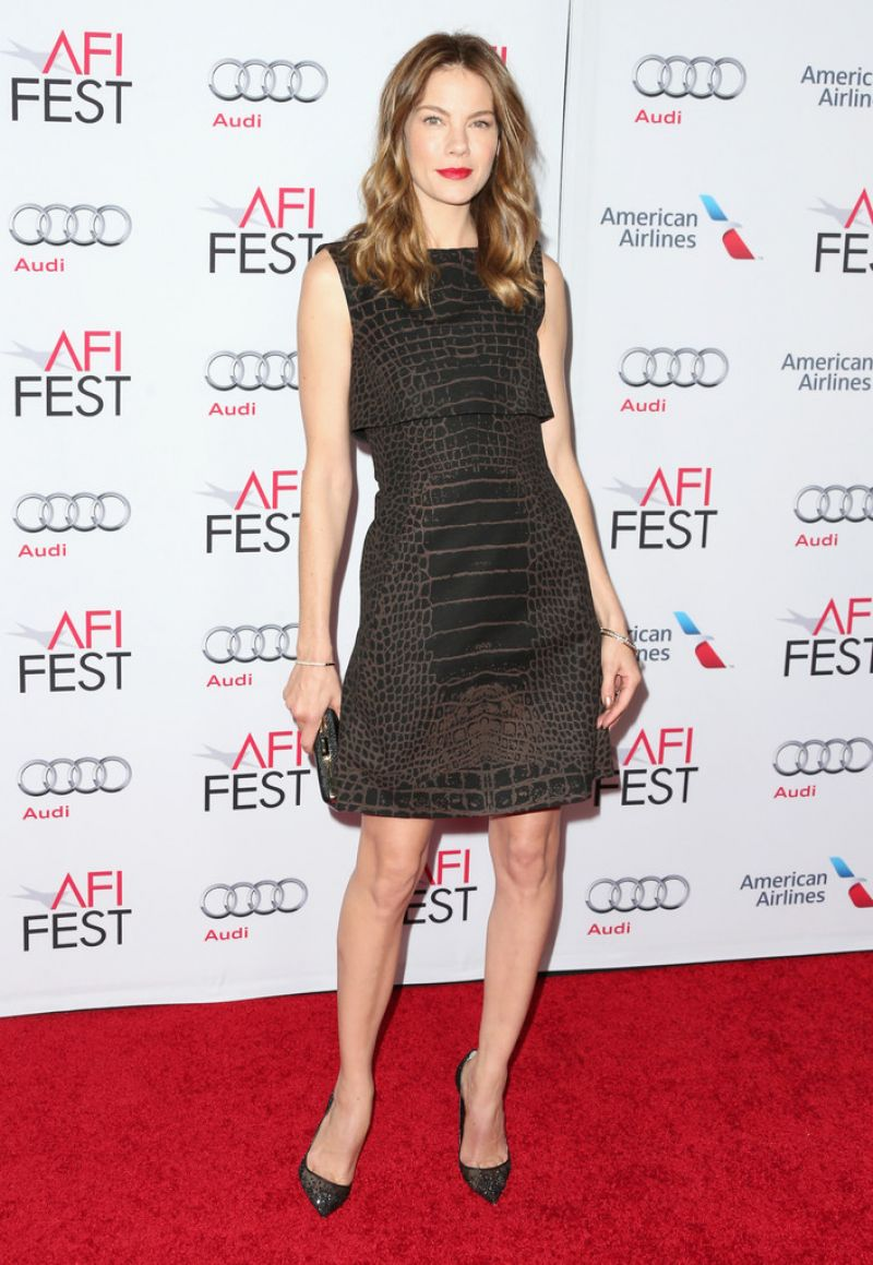 MICHELLE MONAGHAN at AFI Fest Special Tribute to Sophia Loren in Hollywood
