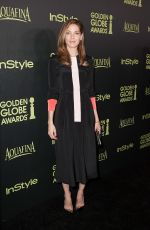 MICHELLE MONAGHAN at Hfpa & Instyle Celebrate 2015 Golden Globe Award Season