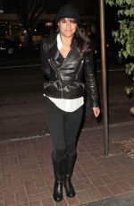 MICHELLE RODRIGUEZ Night Out in Madeo