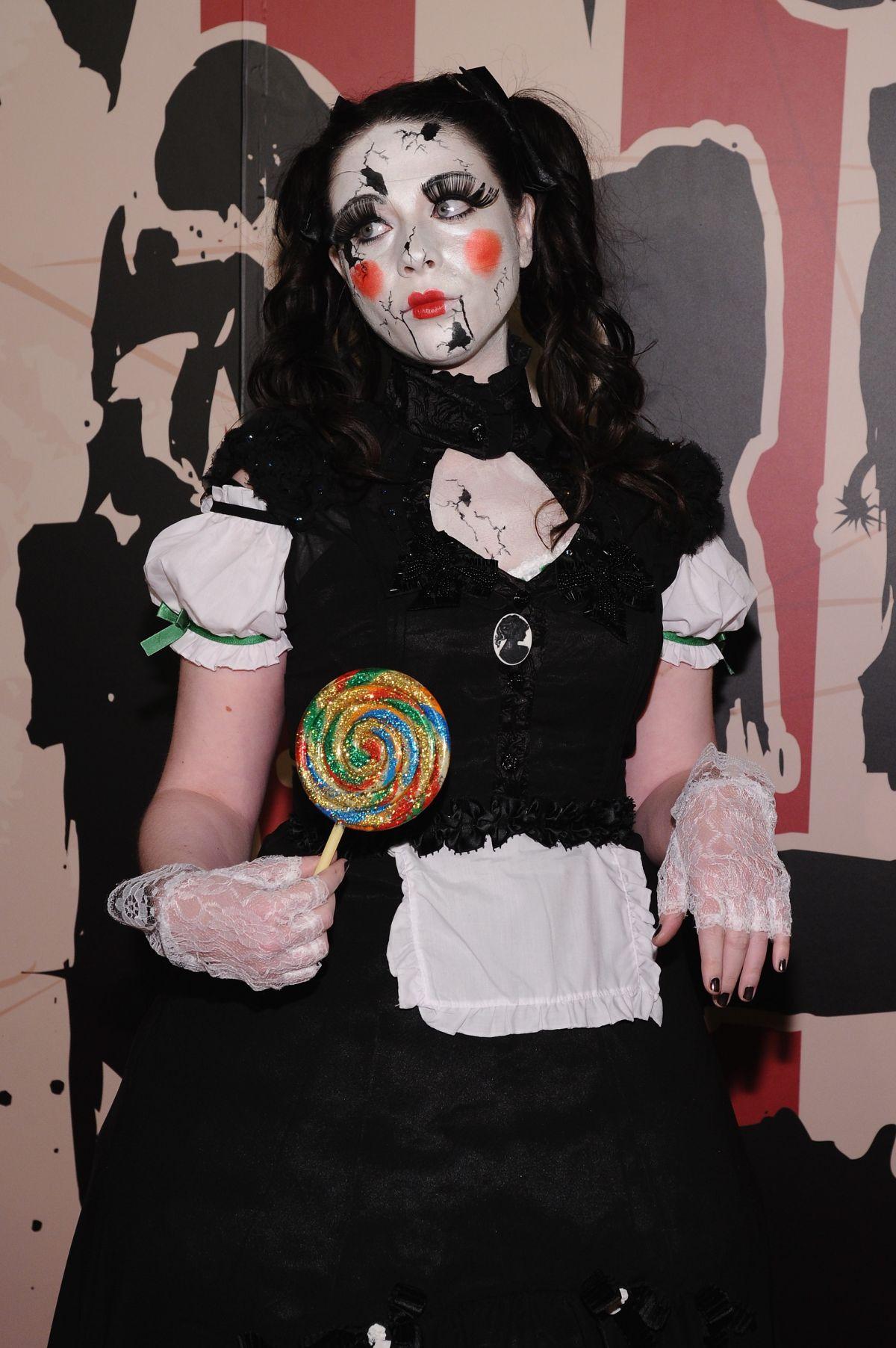MICHELLE TRACHTENBERG at Heidi Klum's Halloween Party in New York ...