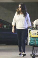 MILA KUNIS Shopping at Ralph