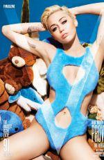 MILEY CYRUS in V Magazine