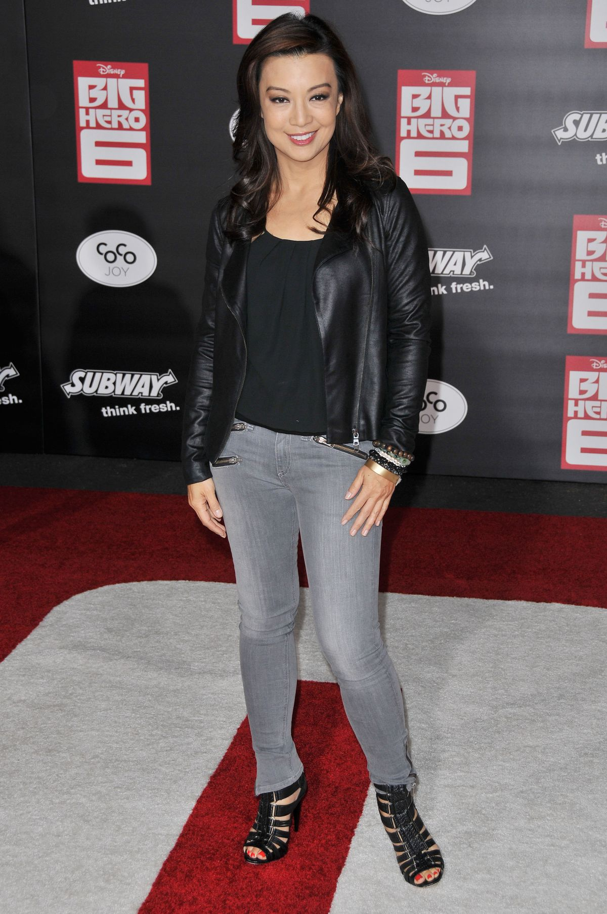 Ming Na Wen At Big Hero 6 Premiere In Hollywood Hawtcelebs