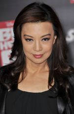 MING-NA WEN at Big Hero 6 Premiere in Hollywood