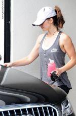 MINKA KELLY Leaves a Gym in West Hollywood 2011