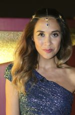 MYLEENE KLASS at Littlewoods Christmas Wishes Campaign Launch in London