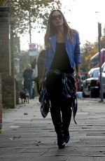 MYLEENE KLASS Out and About in London 1111