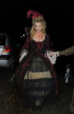 NATALIE DORMER at Jonathan Ross Halloween Party in London