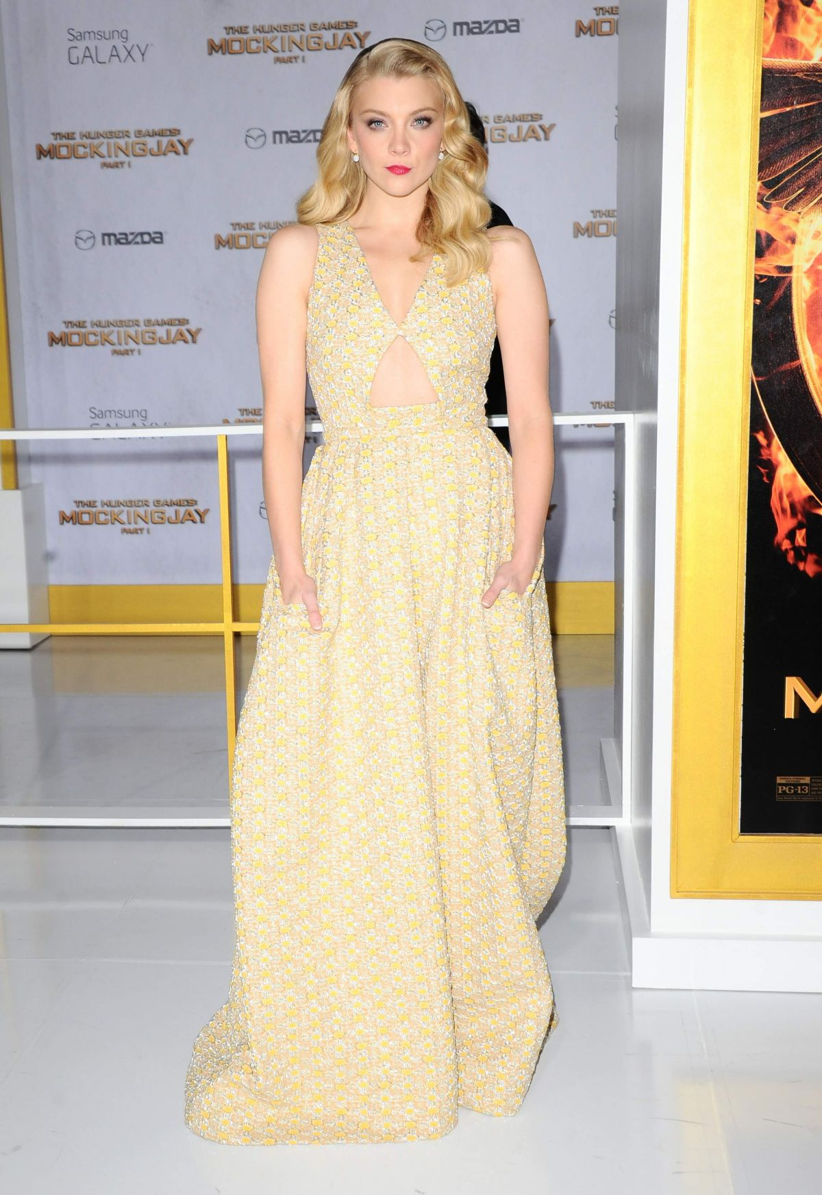 NATALIE DORMER at The Hunger Games: Mockingjay – Part 1 Premiere in Los Angeles