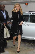 NATALIE DORMER Out and About in London 1011