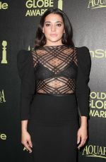 NATALIE MARTINEZ at Hfpa & Instyle Celebrate 2015 Golden Globe Award Season