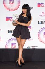 NICKI MINAJ at MTV EMA 2014 in Glasgow