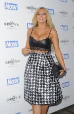 NICOLA MCLEAN at Now Christmas Party in London