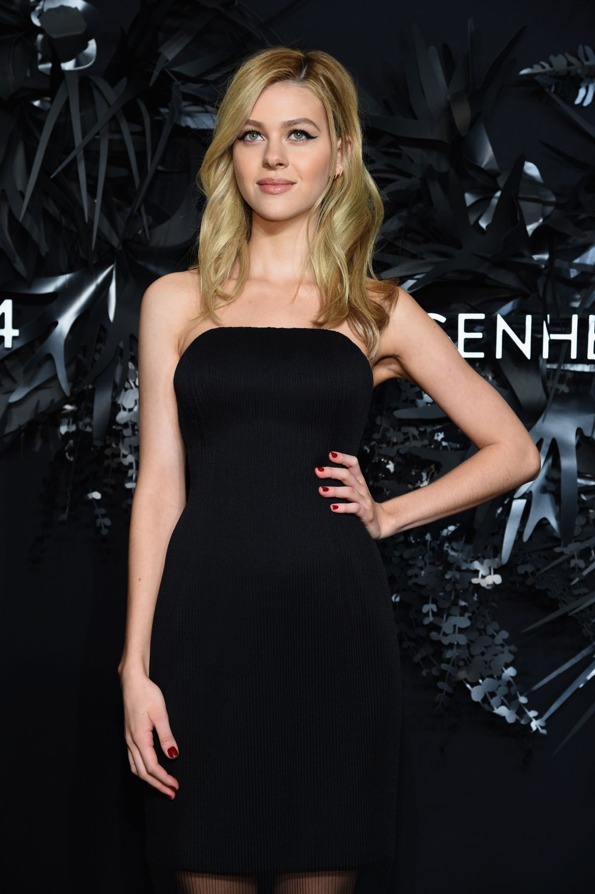 NICOLA PELTZ at 2014 Hugo Boss Prize in New York