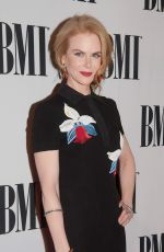 NICOLE KIDMAN at 2014 BMI Country Awards in Nashville