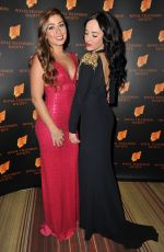 NIKKI SANDERSON and STEPHANIE DAVIS at RTS Awards 2015 in Manchester