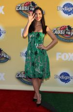 OLIVIA MUNN at Fox's Cause for Pawns an All-Star Dog Event in Santa Monica